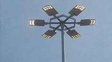 Iluminación nueva rotonda - Amposta