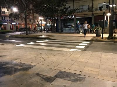 PASO DE PEATONES INTELIGENTE EN ORIHUELA (ALICANTE)
